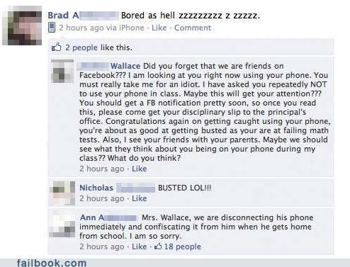 FceFail. . Brad AIN I , Bored as hell 122212112 E 12: 22. E 2 hours ago we - Like - Comment sh 2 people like this., ill II . -Wallace Did you forget that we are