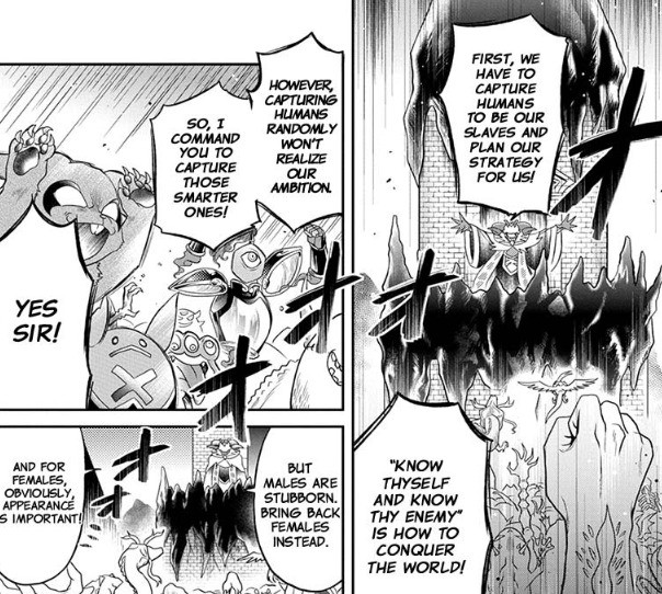 Finally a demon lord that makes sense. .. It's okay we're stealing all the monster girls anyway.
