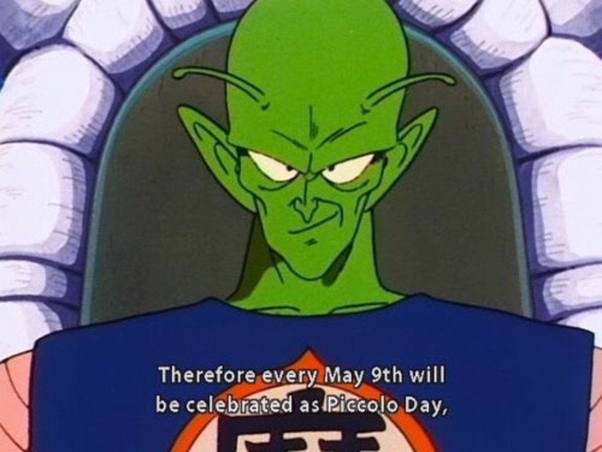 Finally a holiday i can get behind. . ttell' ill Therefore every may tth will. Wait that reminds me, what day is Freiza day again?