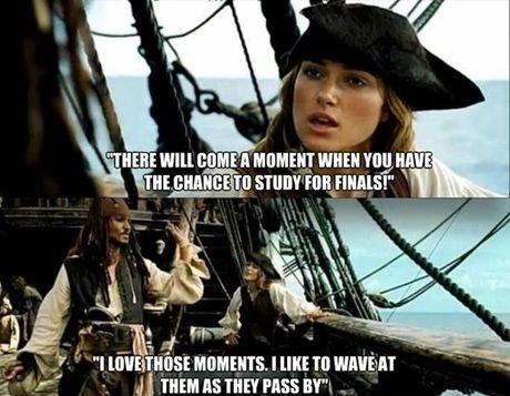 """Finals are coming. """"I should probably study"""" - Said OP while looking at dank memes. r . J I Til an as THE? was an"""