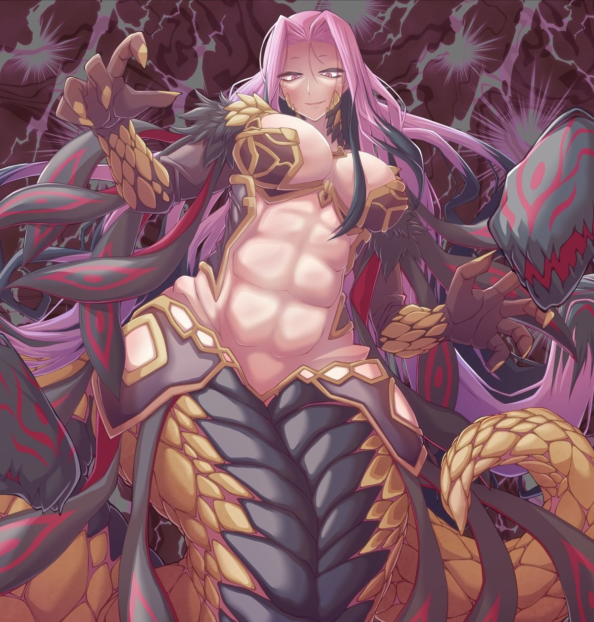 Fit Gorgon Medusa. Source https://twitter.com/ZAW/status/997030525817704448 join list: Fate (414 subs)Mention History join list:. the only way out multihead patting