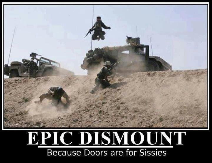 fo so rah. . Because Doors are for Sissies