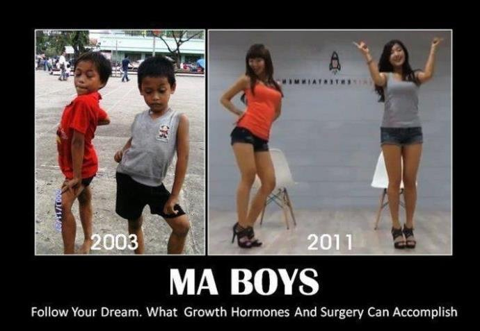 Follow your Dreams. . Follow Your Dream. What Growth Hormones And Surgery Can Accomplish. I would honestly bang them..