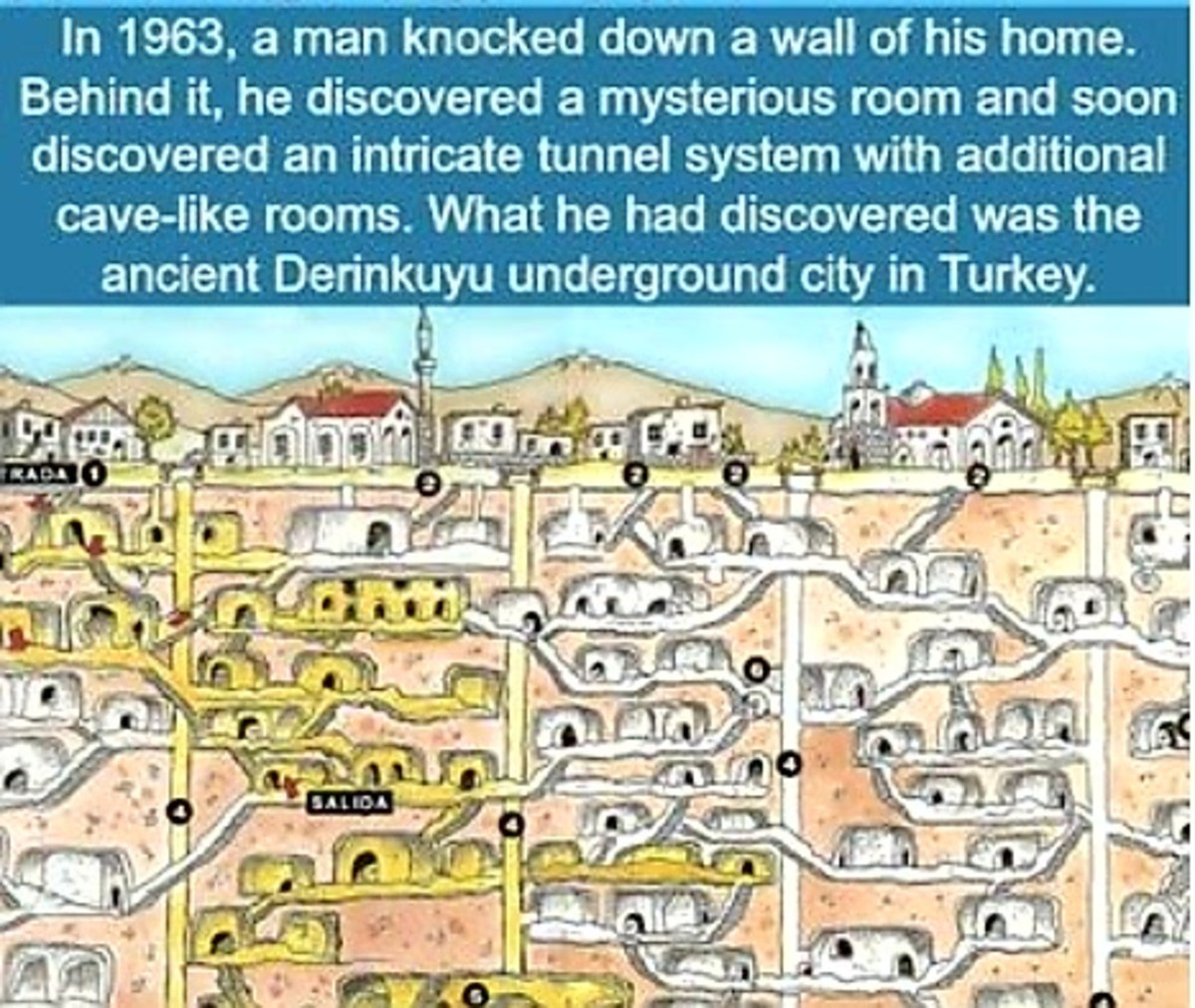 Free Storage Space. .. How much fun would it have been to not tell anyone and just have your own private underground city for a few decades?