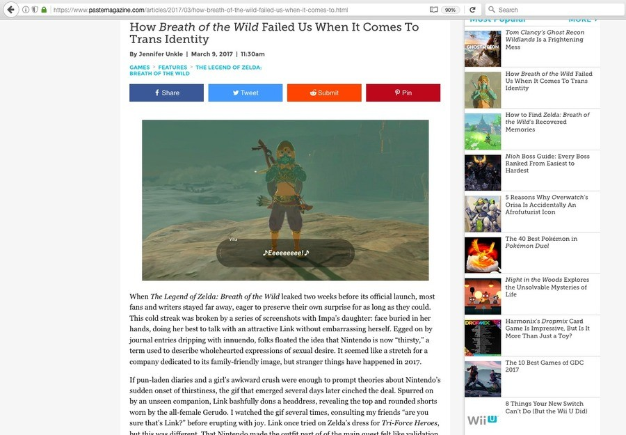 Gaming Journalism. .. Make your own game if you want it to appeal to all your sensitivities