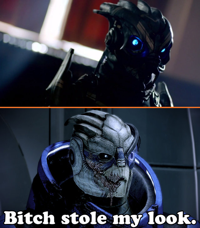 Garrus confirmed for Doctor Who. In the trailer for the new season pf docotor who, there's a cut to this dude (Top picture) which is closely resembles our favor