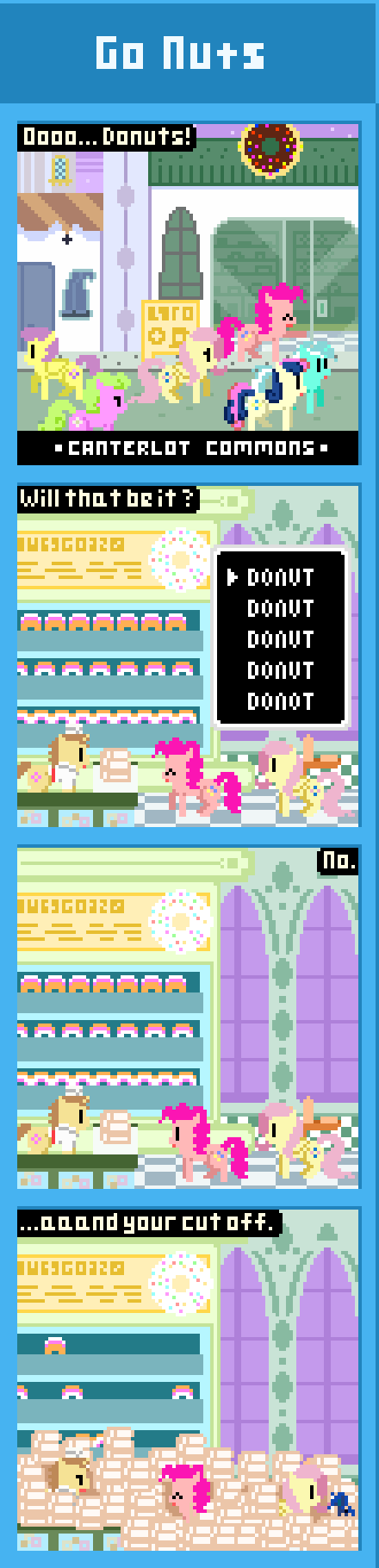 Go Nuts. via: submitnew=10%253A1406516176&gatype=edit&gachanges=1&ga_recent=1 Wonder how many Bits that would cost! MLP: FiM, Pinkie Pie, Fluttershy