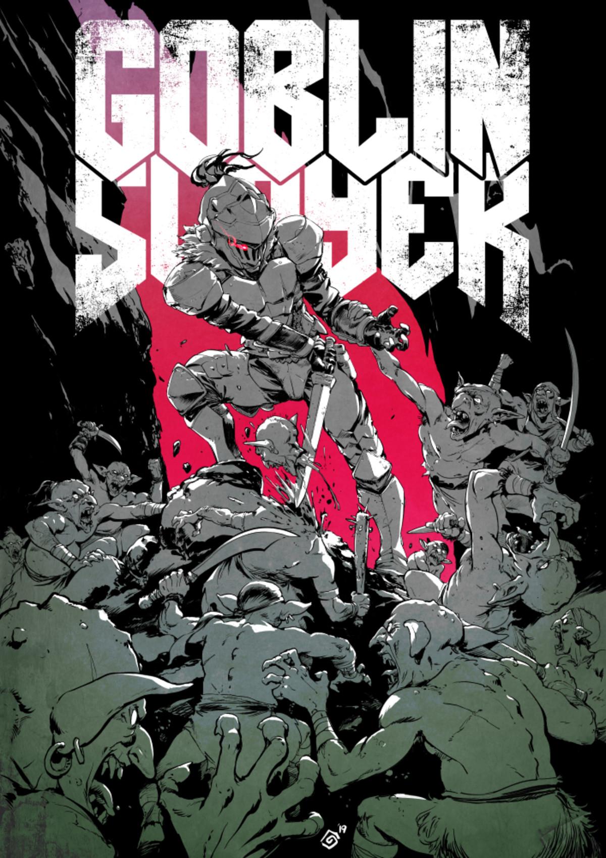 Goblin Slayer x Doom. .. Here's an older but similar image for ya.