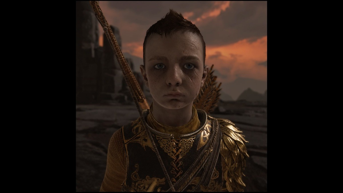 God of war photo mod boi face. .. Actual spoilers loki the early years was a funny kid