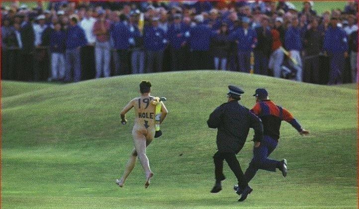Golf Streaker. Your doing it.........