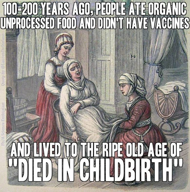 Good Ol days. Source: imgur. l (ff, illia l 'ii WI. or...,,died horribly by plague''