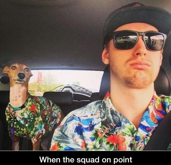 Gotta stay fresh. . When the squad on point