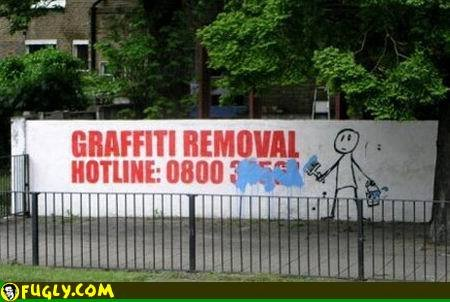 Graffiti Removal. owned.