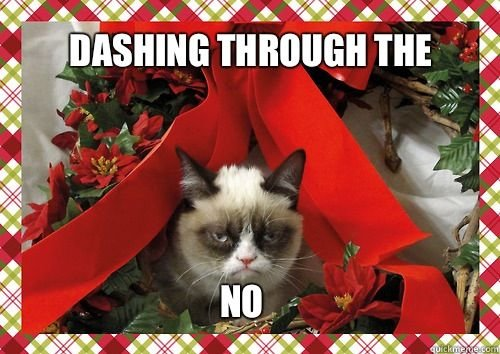 Grumpy Cat Xmas. . ifa. this has always been one of my favourites :P