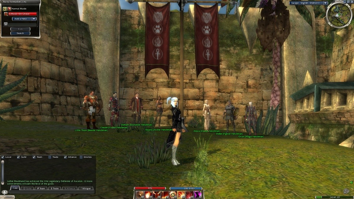 Guild Wars 1. anyone still play Guild Wars 1? it's still a good game but it's dying after gw2 came out.. I spent an absolute ton of time playing this game. Sunk god knows how many hours into it. Still play from time to time, but the pvp is almost entirely dried up