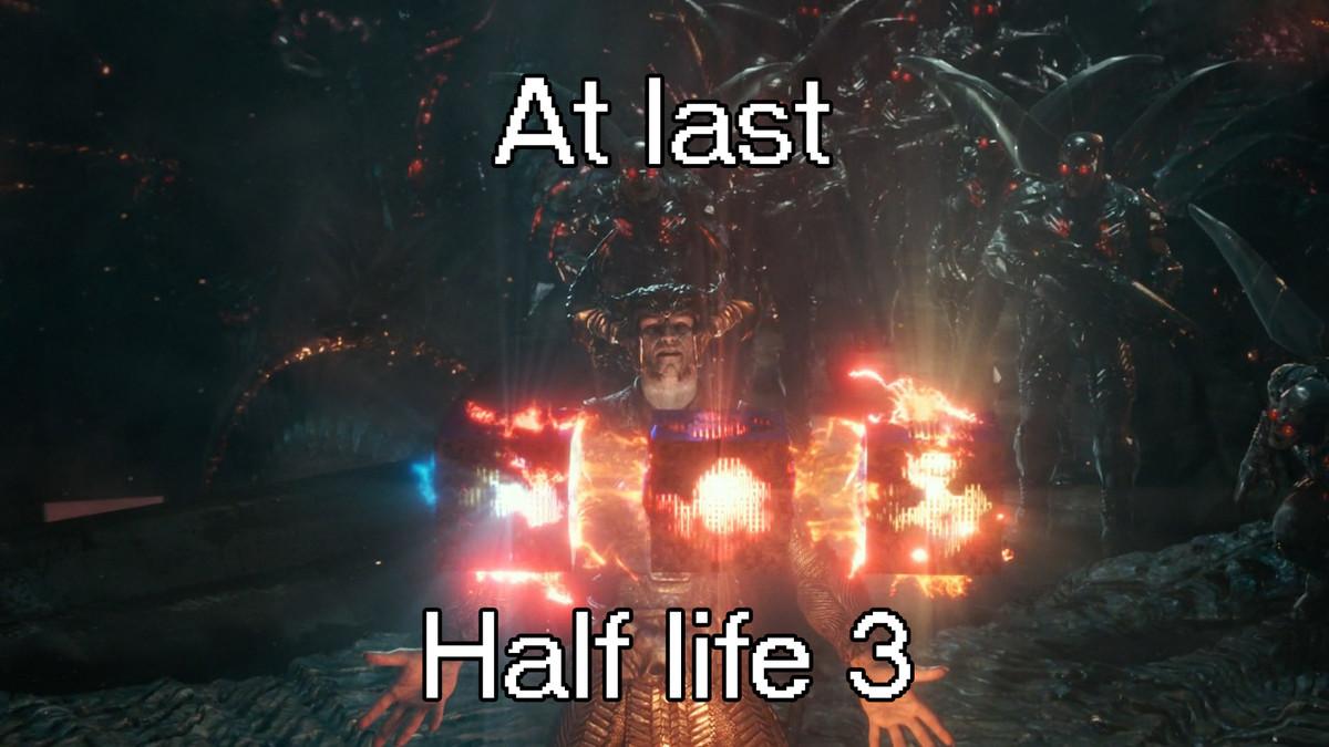 Half life 3 confirmed. .. final fantasy 15 tho