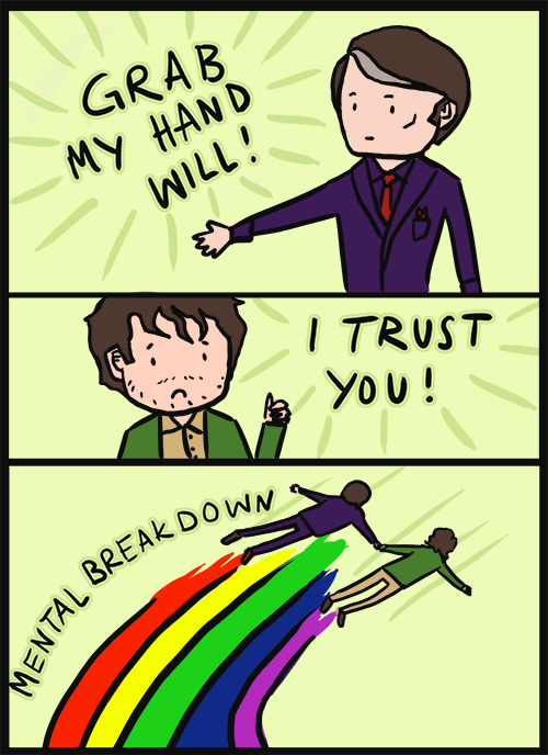 Hannibal. Not mine. All credit goes to plushfox on DeviantArt..