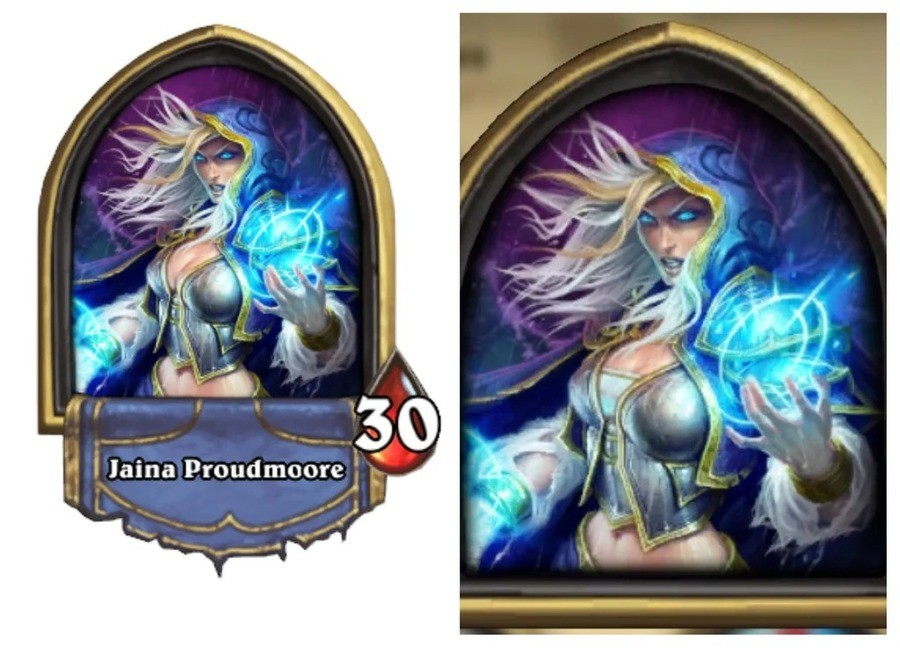 Hearthstone Jaina nerfed?. Blizzard probably sucking China's dick. China in everything. I actually agree with Heel here... I think it looks better
