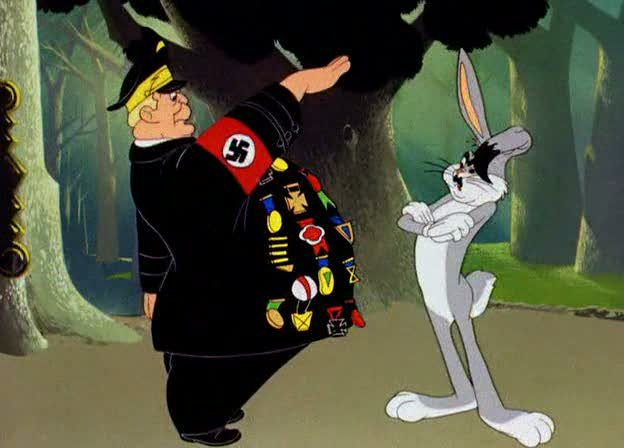 Heir Buggs. No one wants to talk about the darker periods is Buggs Bunny's past..