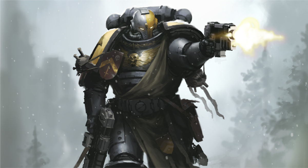 Help identifying a chapter. I couldn't identify this chapter on the new WH40K website and was curious if anyone could tell me... That's a Primaris-variant Silver Templar, an Ultramarine Successor Chapter.