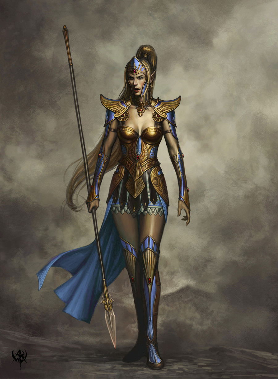 High Elves Concept Art. Find more Warhammer Fantasy Concept Art by the same artist here: Bretonia: goo.gl/lHWZ8h Skaven: goo.gl/oxX3kv Lizardmen: goo.gl/UWunxx