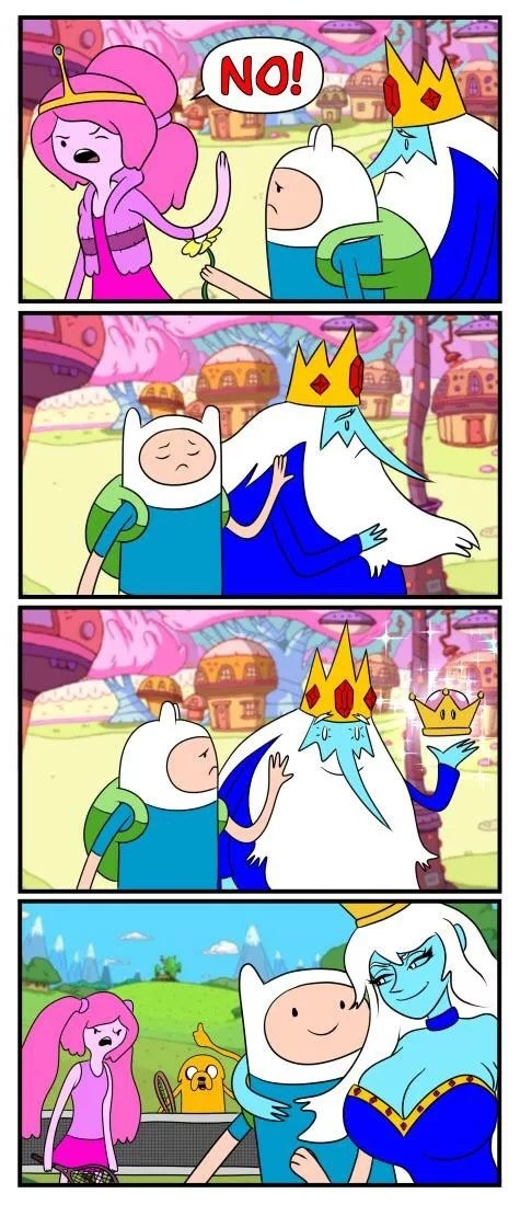 HISHE: Adventure Time. .. PB was an asshole