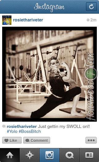 Historical Instagram - Rosie the Riveter. More Historical Instagram: hollywoodleek.com/2012/10/if-historical-figures-had-instagram-18-pics/. I II Just martin tt