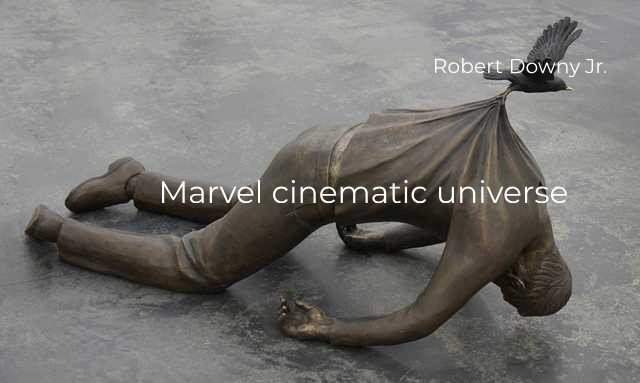 Hmm is this true?. .. Ofc not. He is good, he started it, but he is not the only reason people still watch Marvel, and he is not the only good thing in it. His loss (from the CU) wil