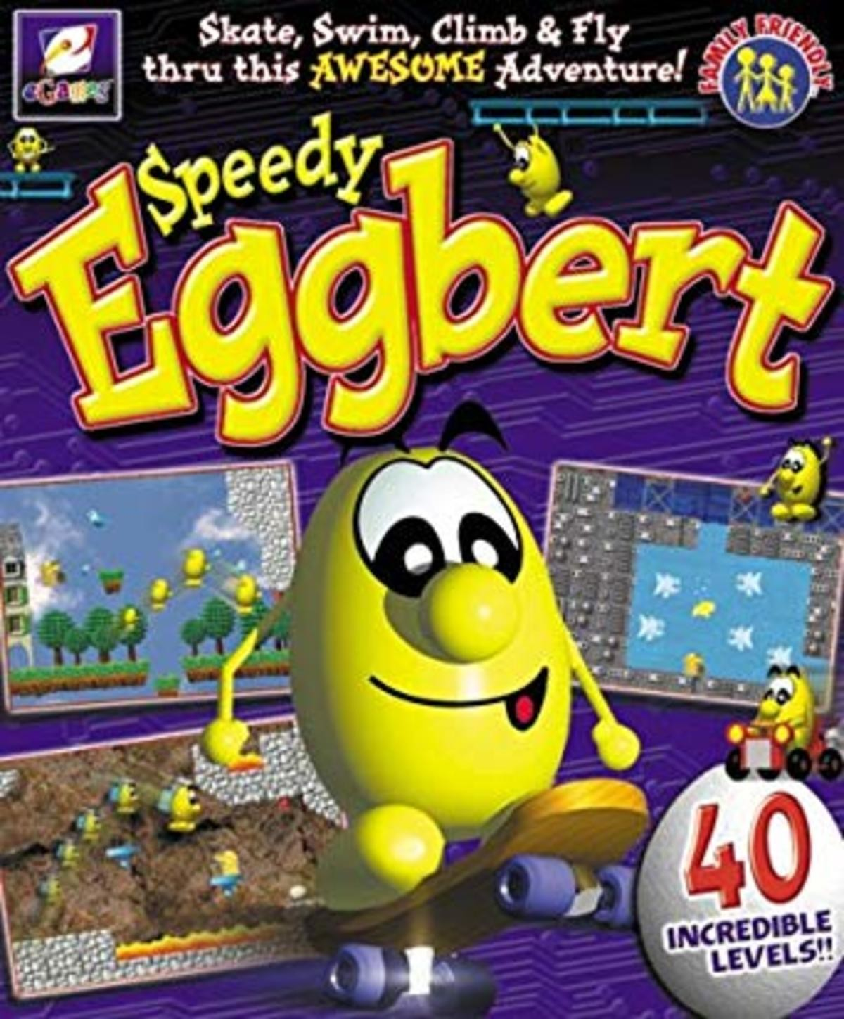 hoc hard Bat. .. Speedy Eggbert was great. I remember playing these in elementary school. Was the OG Mario maker with its level creator.