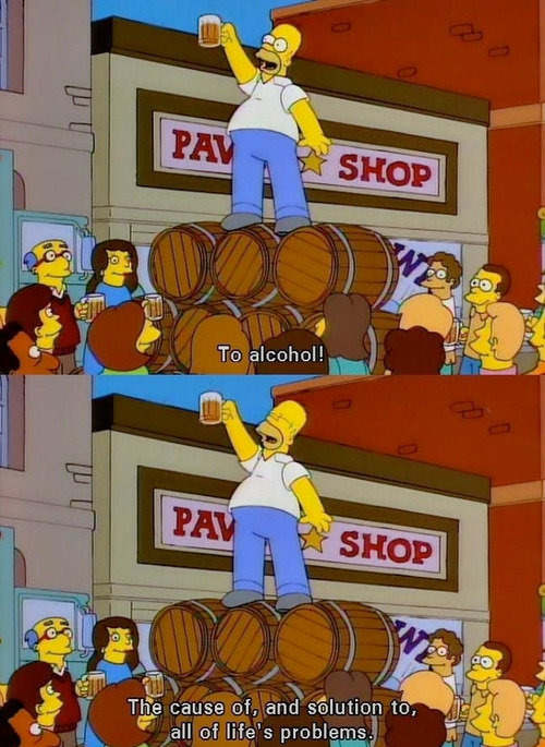 Homer's best quote ever. .