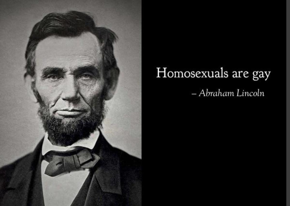 Honest Abe. .