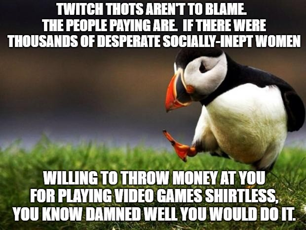 Hot Tea. .. It's my understanding that the primary contention is the double standard in Twitch's reinforcement of the rules that pisses people off. I don't really give a ab