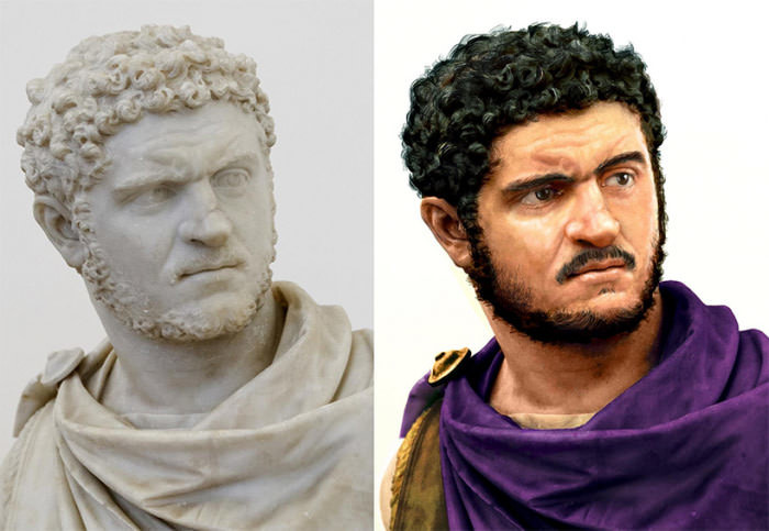 How the average roman looked like. .. Guys with a haircut like this have a 125% chance of starting a republic.