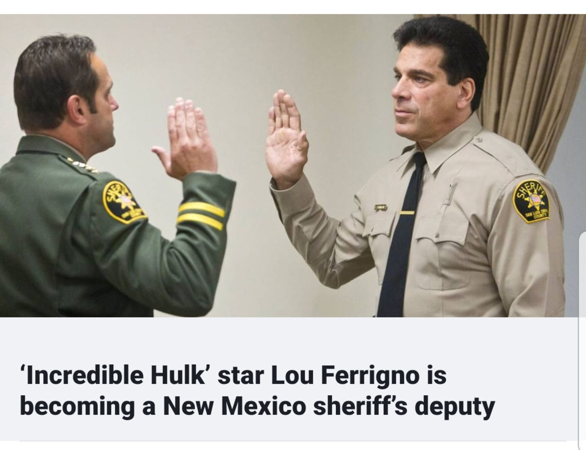 Hulk. .. Oh man. Imagine that surreal moment by getting pulled over by the hulk