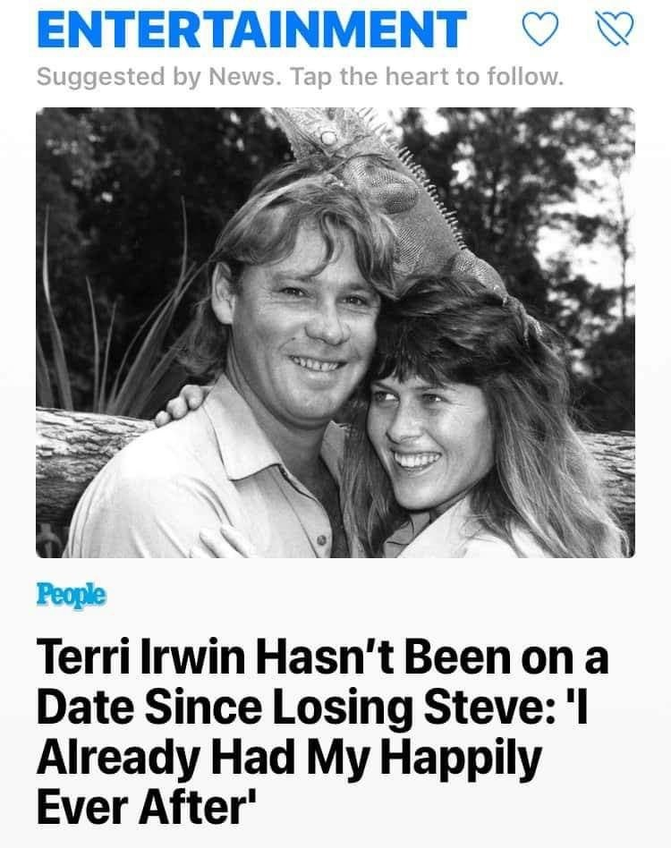 i am screaming. .. the best wholesome people are the ones who make the people they're around wholesome as well Steve Irwin is one of those legends