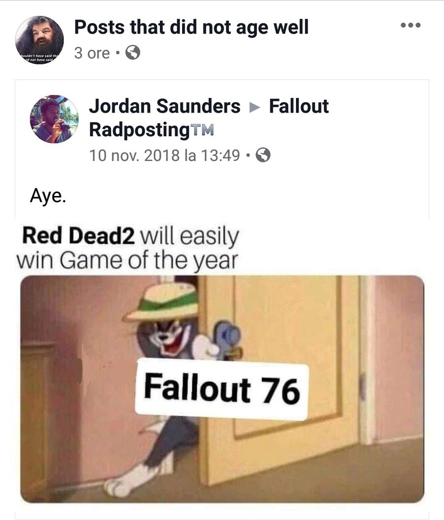 I don't know why I'm still laughing. .. Fallout 76 is a game that should have been good and its almost insane that it wasn't. Bethesda has a tried and true formula for their games that make them enjoy