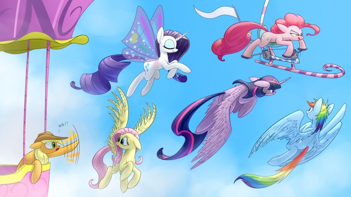 I have achieved flight. .. I thought this content was gonna be about scootaloo I was wrong