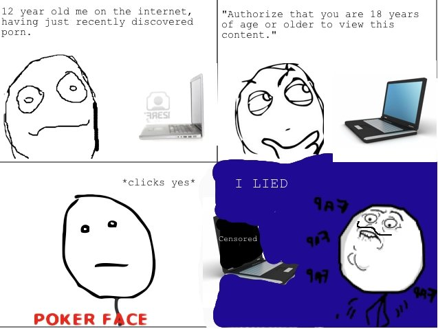 I LIED meme comic. My take on the newish meme... really crappy but just a try.. you couldn't find a picture of the meme?
