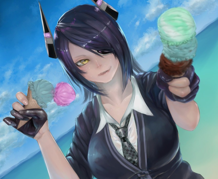 Icecream With Tenryuu. join list: TomboyThots (1803 subs)Mention History join list:. You know I'm not really into these ship girls, always felt kinda wrong whenever I saw artwork of em I always felt it kinda disrespected the actual ships in a wa
