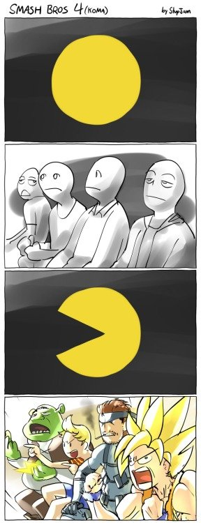 I'm really feeling it.. .. Pacman - Eats the competition