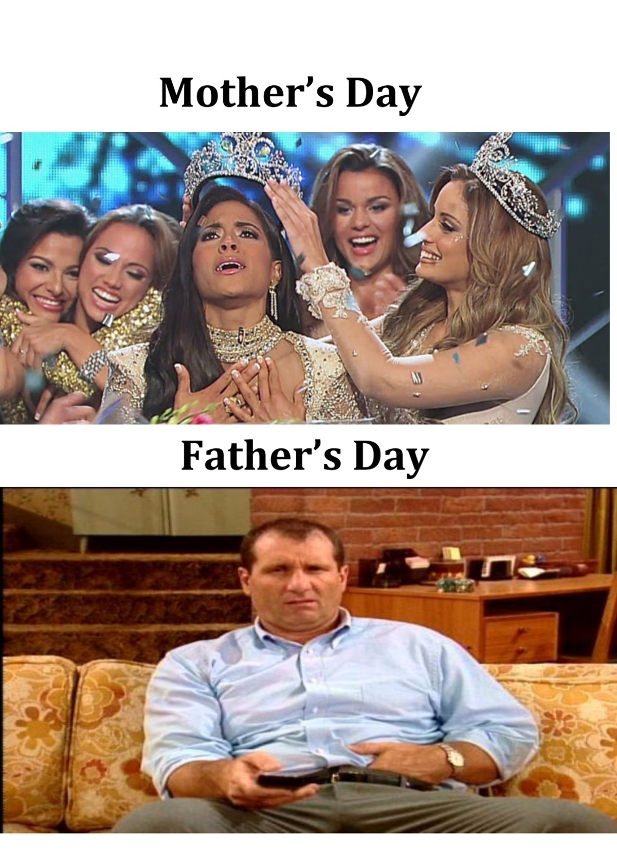 I'm with Al. .. Father's Day on social media