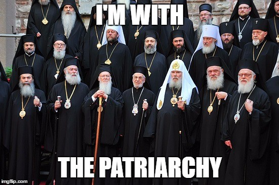 I'm With The Patriarchy...literally.... .. Hell ya wizards