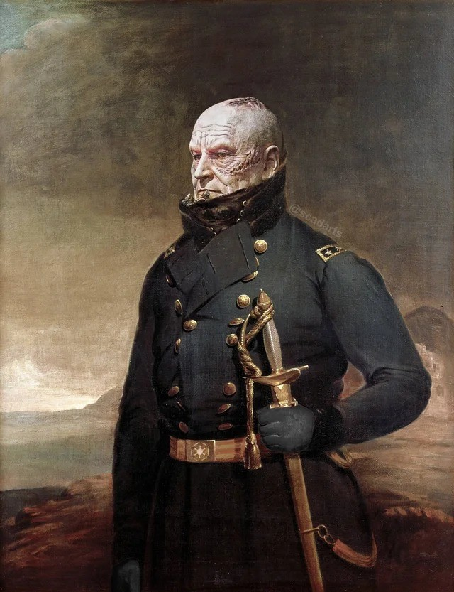 """imperial vadeer. .. """"Those Confederate Rebels will feel the might of the Imperial Union. Admiral Sherman set a course for Planet Atlanta"""""""