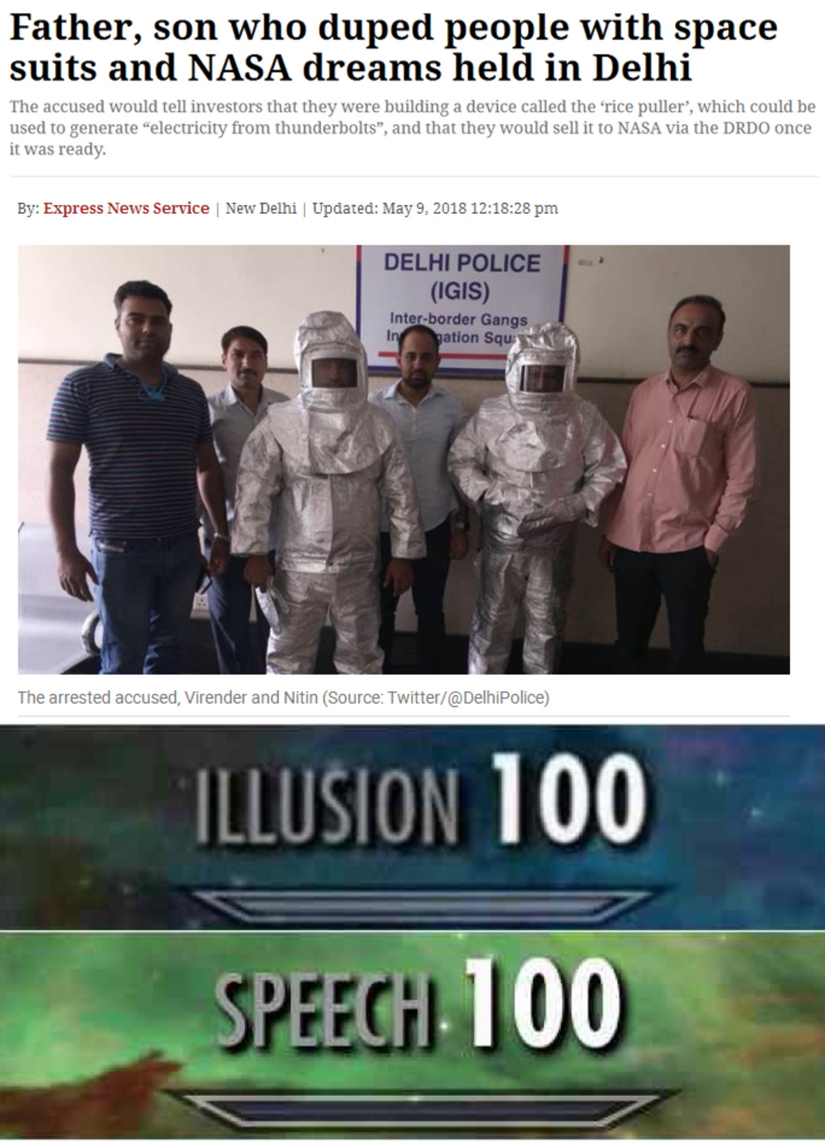 India: your daily source of fun!. That was a hell of a business-plan.. suits . NASA 'ltt' ' l' ! l held in Delhi used ID f' Hem and that they 'ltl! sell it In )