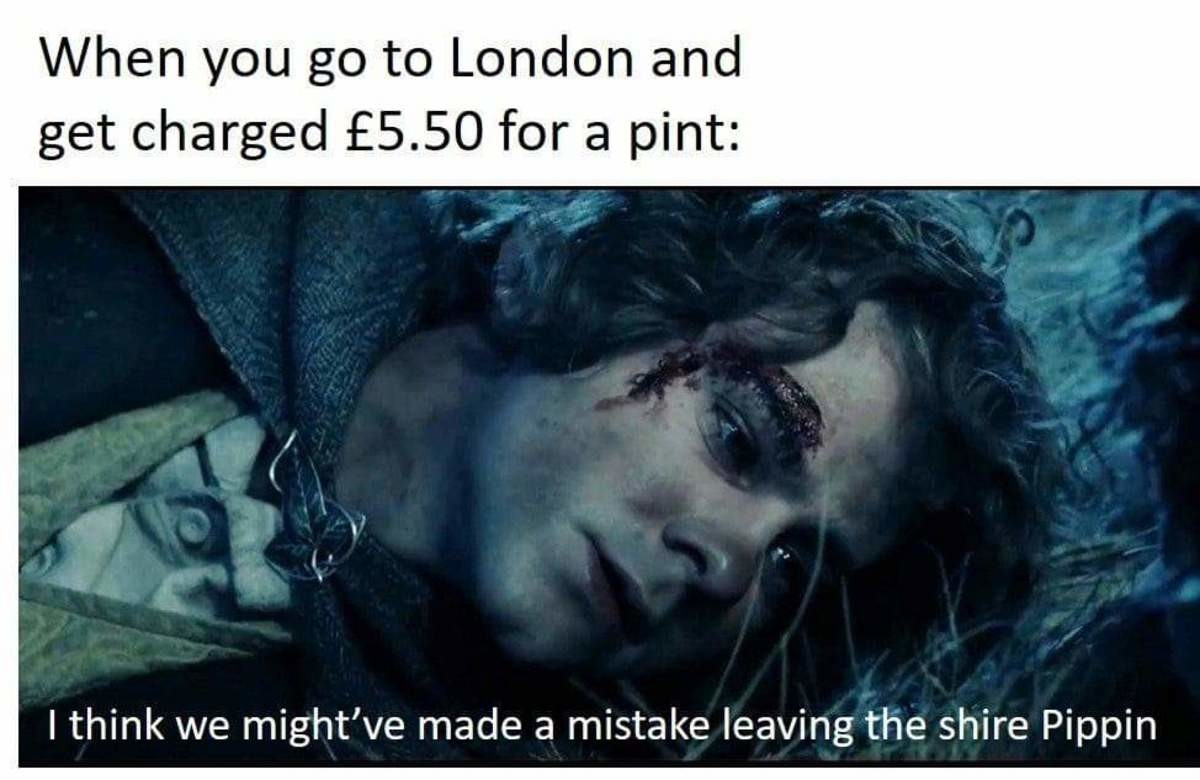 It was a mistake for me anyway. .. Must be an old meme, 5.50 isn't that out of the ordinary these days...