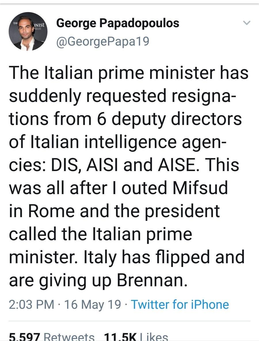 Italy 6 Resign. .. Hang 'em high. Gotta get 'em all.