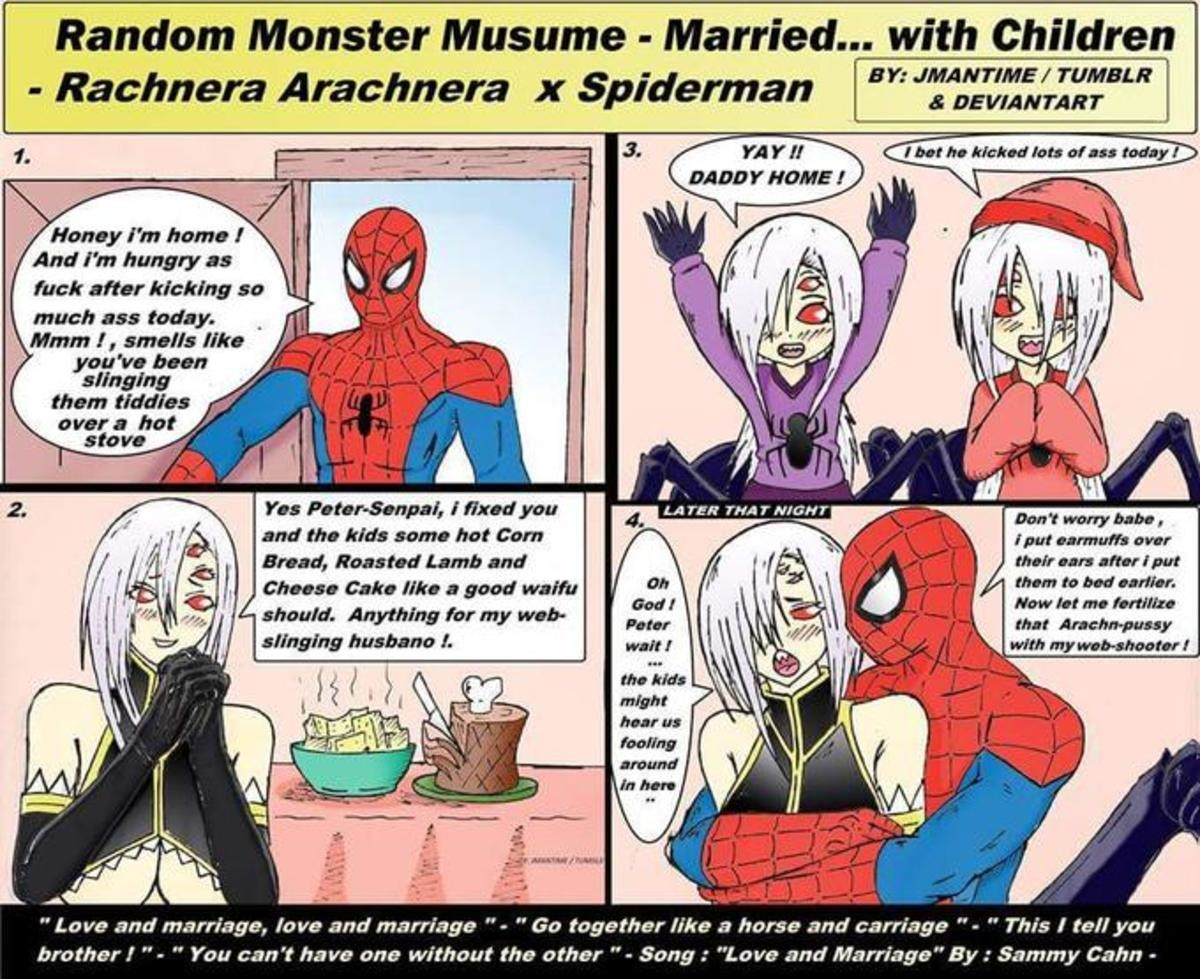 It's cringe time !!!. I don't care i ship it .. Spider pheromones