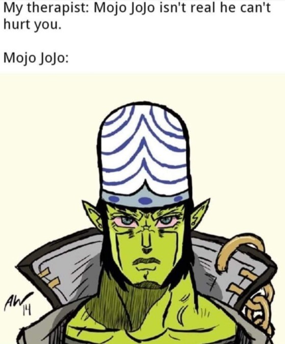 joko. .. After what happened with the last monkey on Jojo, there are some very unfortunate implications here.