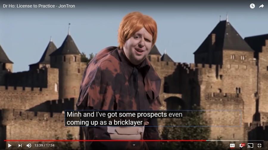 Jontron. Jontron makes Hunchback joke same day as Notre Dame burns down... Jontron did it