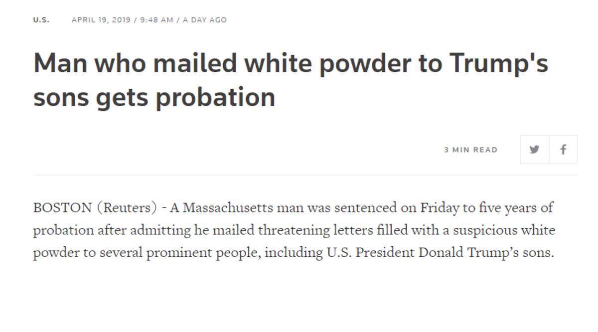 Justice is Beautiful :^). .. Probation seems kinda weak